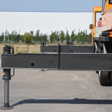 One of Hottest for Small Truck Lift Mobile Crane 12 Ton Construction Crane supply to Turks and Caicos Islands Manufacturers