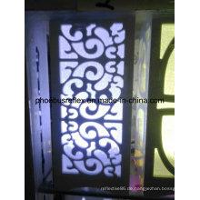 47cm X 48cm Reflektierende Dekoration Blätter 26 Farben