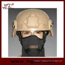 Casque militaire Mich 2000 Ach avec Nvg Mount & côté Rail Action Version casque