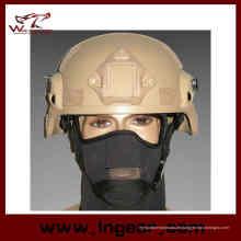 Mich 2000 Ach Militärhelm mit Nvg Mount & Seite Rail Action Version Helm