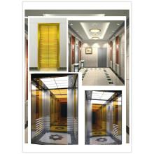 Стильный пассажирский лифт Srh Rose Golden Style