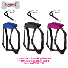Easy H Style Dog Harness Set Nuevo diseño Dog Leash Retractable Wholesale Rope Dog Leash