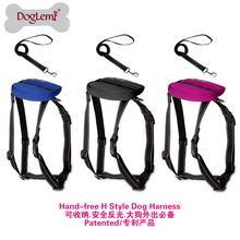 Fácil H Estilo Harness Dog Set New Design Trela ​​Do Cão Retrátil Atacado Corda Trela ​​Do Cão