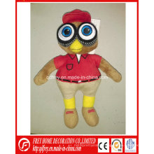 Customized Plush Mascot Toy for Club/Basketball Team