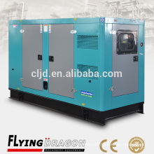 Weichai Ricardo Container type 100kw 125kva soundproof canopy diesel power generator made in China