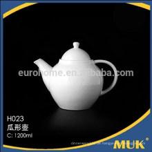 2016 modernes Restaurant royal cheao gute Qualität weiße Keramik Teekanne