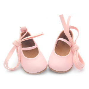 Genuine Leather Cute Pink Dress Shoes Baby