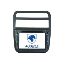 2DIN coches reproductor de DVD aptos para Samand Irán coche con Radio Bluetooth TV estéreo sistema de navegación GPS