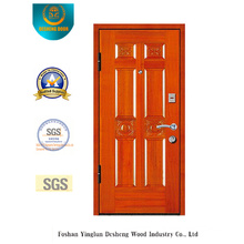 Simplestyle Security Armoured Door with Carving (E-1006)