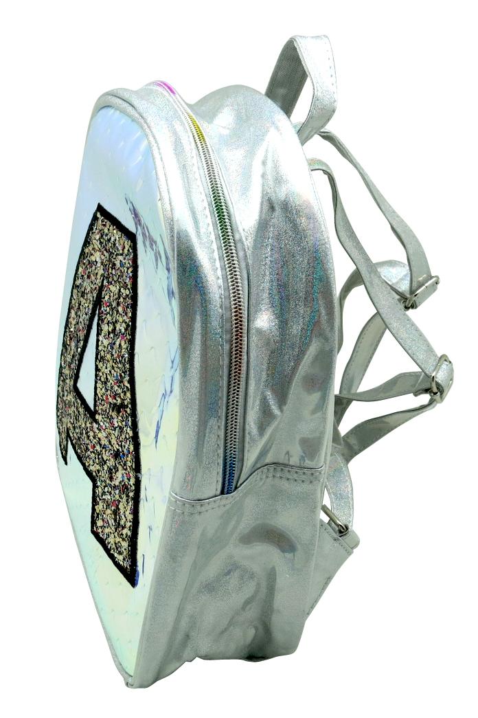 Glitter A Pattern Laser Backpack 2