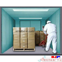 Large Space Freight Elevator with Machine Roomless