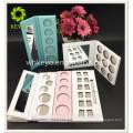 Paillette-Palette der Augenschattenbehälter-Palette weiße rosa