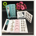Eye shadow container palette white palette eyeshadow pink paper packaging