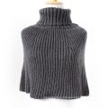 Женский шарф свитер кардиган обертывания зимний вязаный пончо шали (SP606)