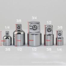 Adaptateurs de prise 3/8 à 1/4 pouces Réducteurs pour clé