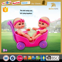 New product for kid toy baby doll stroller with car seat