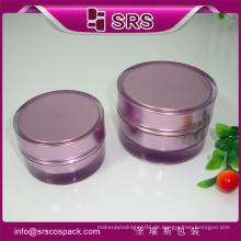 China 15ml 30ml 50ml Creme Glas Kunststoff Kosmetik Verpackung Creme Container