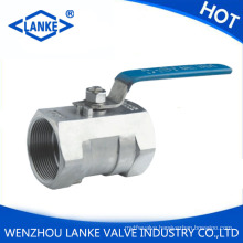 One Piece Stainless Steel Threaded Ball Valve (1PC Ball Valve)