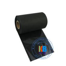 Impressora de código de barras de cor preta compatível jumbo roll fita de transferência térmica