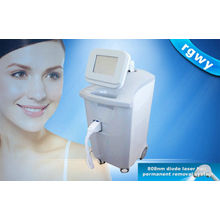 808nm Salon Beauty Permanent Diode Laser Hair Removal For Facial Hair Loss