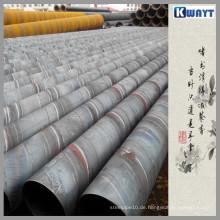 ERW Stahlrohr mit Fest- oder Rotationsflansch (Direkthersteller)