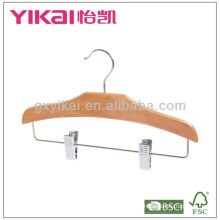 2013 colgante de ropa de madera de los nuevos niños del estilo con los clips del metal