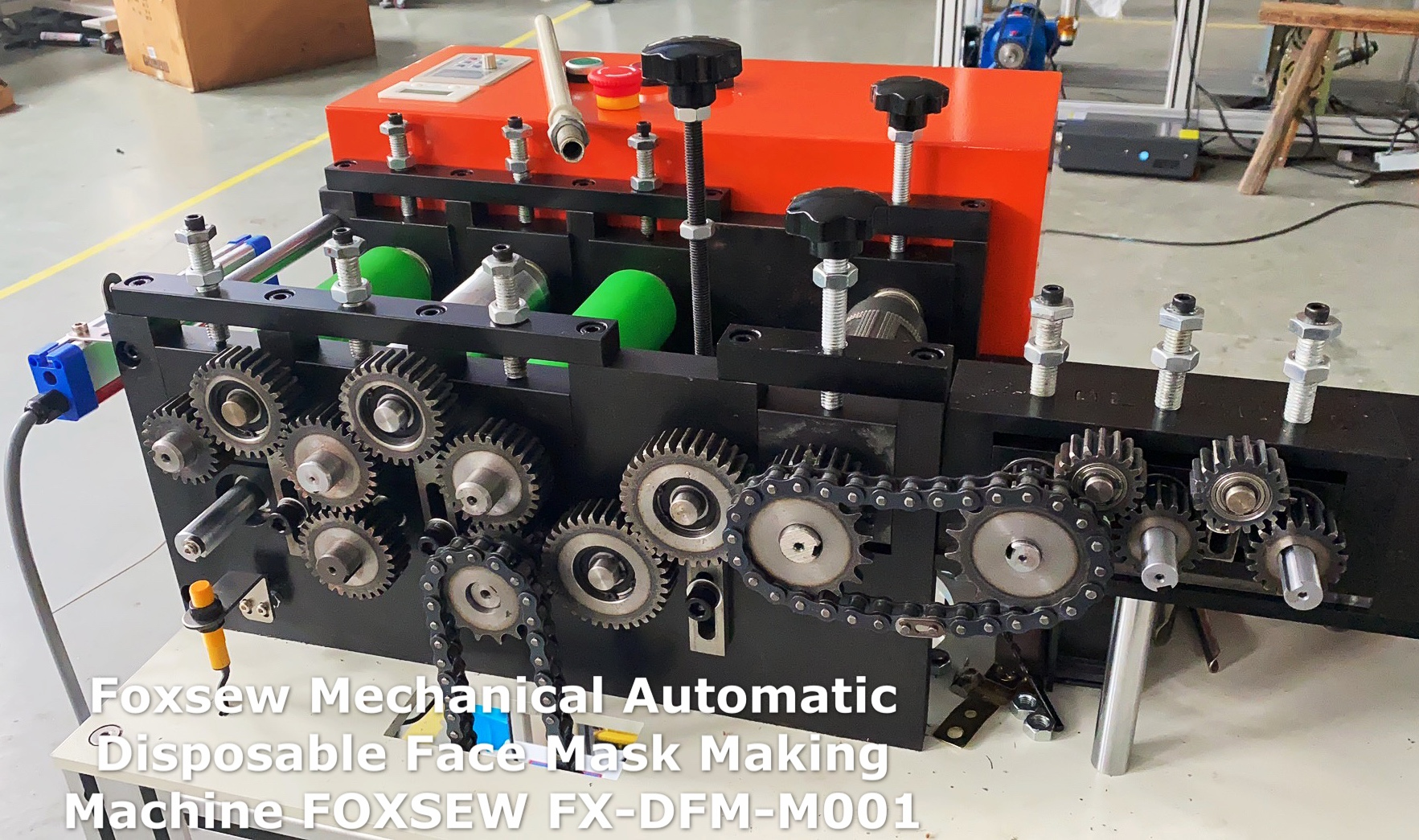 Mechanical Automatic Disposable Face Mask Making Machines (2)