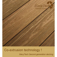 WPC Laminate Decking/Wood Plastic Composite Decking for Balcony and Garden