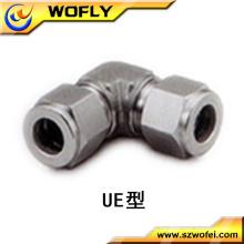 Fabricado en acero de China 3/8 '' unión codo