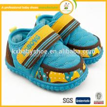 Baby Girl Shoes 2015 Реальный патч-крючок и петля (липучка) Unisex Tpr Хлопчатобумажные ткани Обувь Новый стиль Детские ботинки для обуви Мальчики Зима