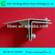 Electric power fitting- metal cable clamp