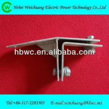 Штуцер электричества - металлический зажим кабеля