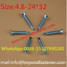 Wing Tek Schraube selbstbohrende Schraube selbstschneidende Schraube
