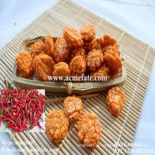 Biscoitos aromatizados com biscoito de arroz frito