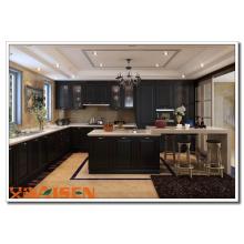 2016 Aisen Flat Laminate Gabinete de cozinha Wooden Cabinets Interior Home Design