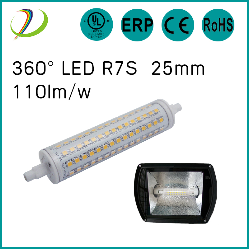 360 R7S Lâmpada LED 135mm R7S Lâmpada LED