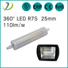 UL CUL list led r7s 135mm 12w dimmable r7s lamp