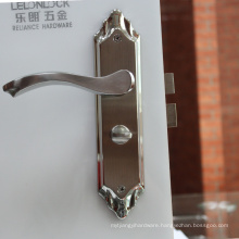 304 stainless steel grade lock for safes with plate with high security type door lock set /entery lock access