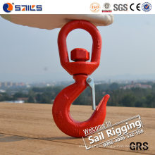 Alloy Steel Crane Hook with Safety Latch