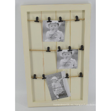 Nuevo tablero de clip de madera para la decoración de la pared