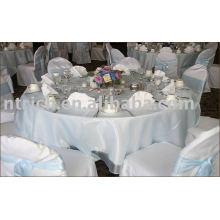 100 % Polyester Stuhlabdeckung, Bankett/Hotel/Hochzeit Stuhlabdeckung, Organza Schärpe