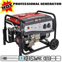 CARB / CSA / CE / ROHS / Aprobado por la EPA / Generador Fabricante SC9000-I Generador de Gasolina de 60 Hz