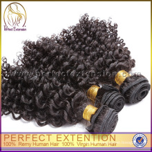5A Virgin Unique Hair Dye Unprocessed Malaysian Curly Hair