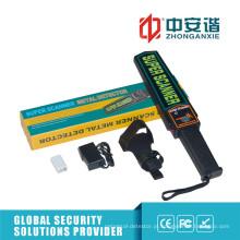 Operação Fácil Alto-Decibel Alarme Digital Metal Detector