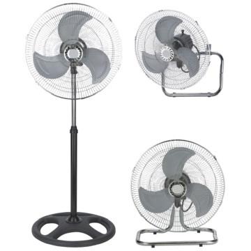 Ventilateur de 18 pouces (3 en 1-piédestal / table / montage mural)