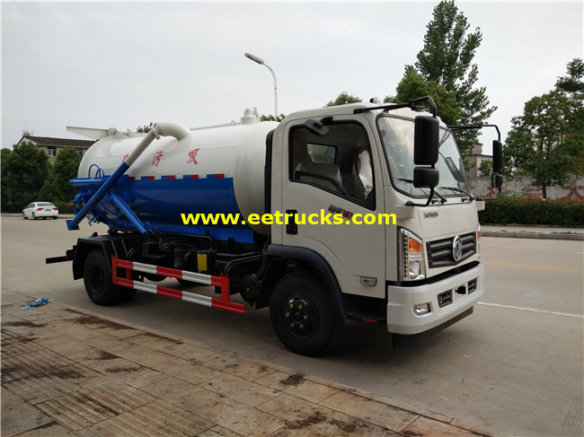 4 CBM Fecal Suction Trucks