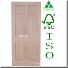 Puerta de madera interior de fábrica Radiate Pine 6 Panel