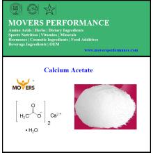 Vente à chaud de gâteaux alimentaires Acétate de calcium minéral