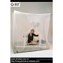 Rede de mosquiteiro rectangular