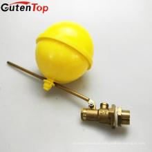 LB válvula de flotador del tanque de agua Guten con bola de latón bola de plástico válvula